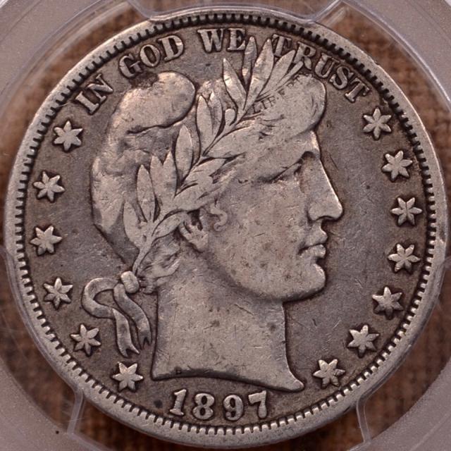 1897-O Barber Half Dollar PCGS VF20