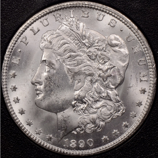 1890-CC GSA Morgan Dollar NGC MS63 CAC, superb quality