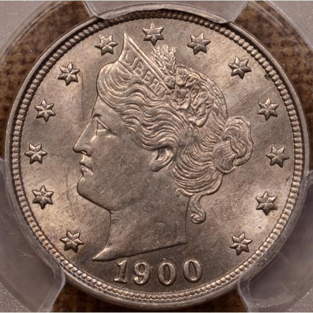 1900 Liberty Nickel PCGS MS62