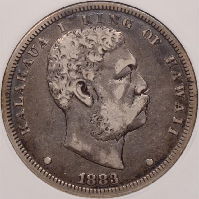 1883 Hawaii Dollar ANACS VF20