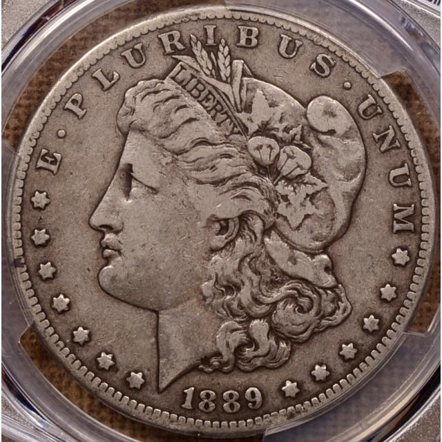 1889-CC Morgan Dollar PCGS VF30 (CAC)