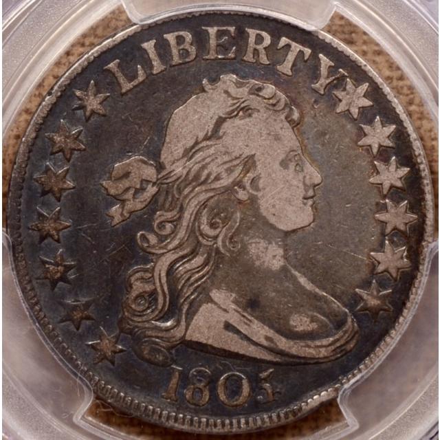 1805/4 O.101 Draped Bust Half Dollar PCGS VF20