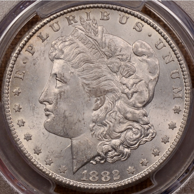 1882-CC Morgan Dollar PCGS MS63