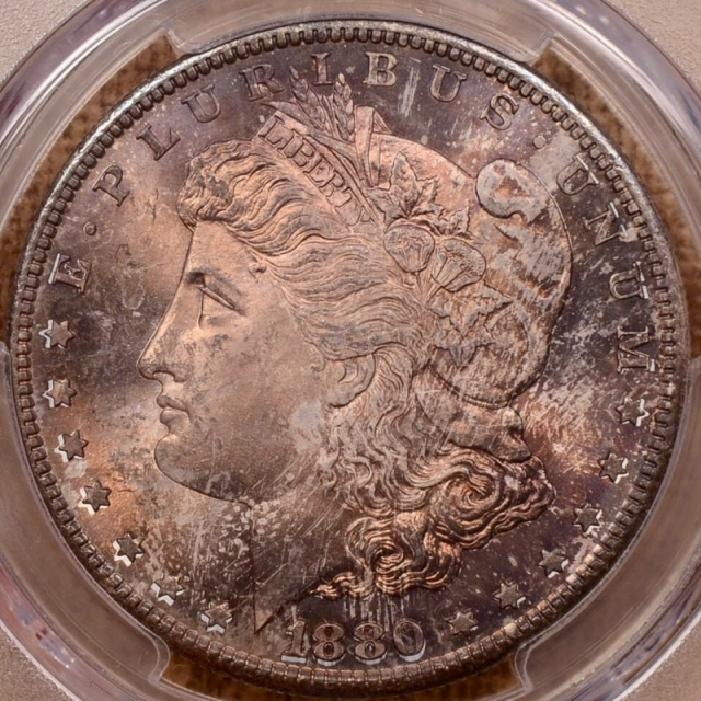 1880/79-S Morgan Dollar PCGS MS65 CAC