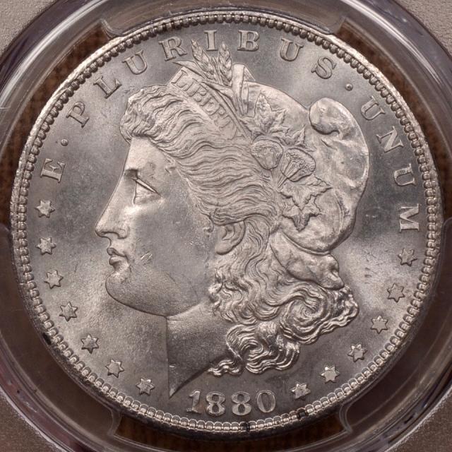 1880-S Morgan Dollar PCGS MS66+