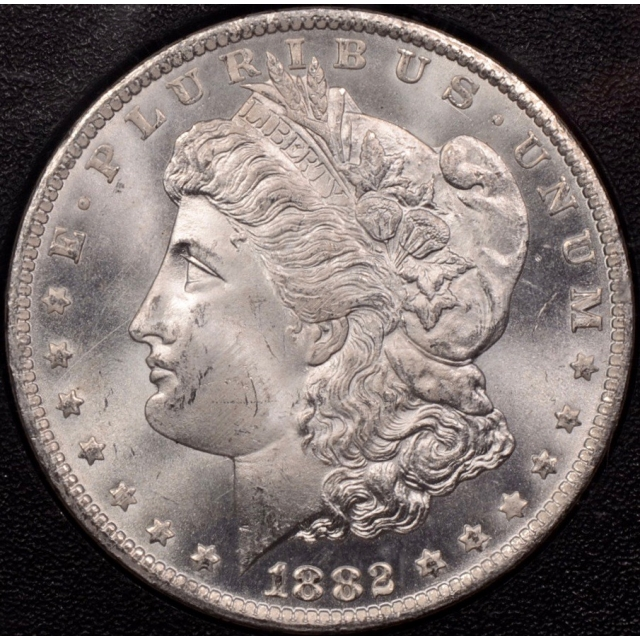 1882-CC GSA Morgan Dollar NGC MS64, I grade 65+