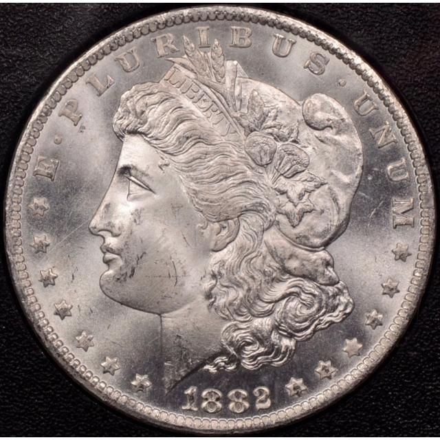 1882-CC GSA Morgan Dollar NGC MS64, I grade 65+